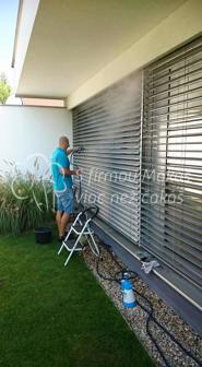Čistenie fasád, okien a vertikálných žalúzii