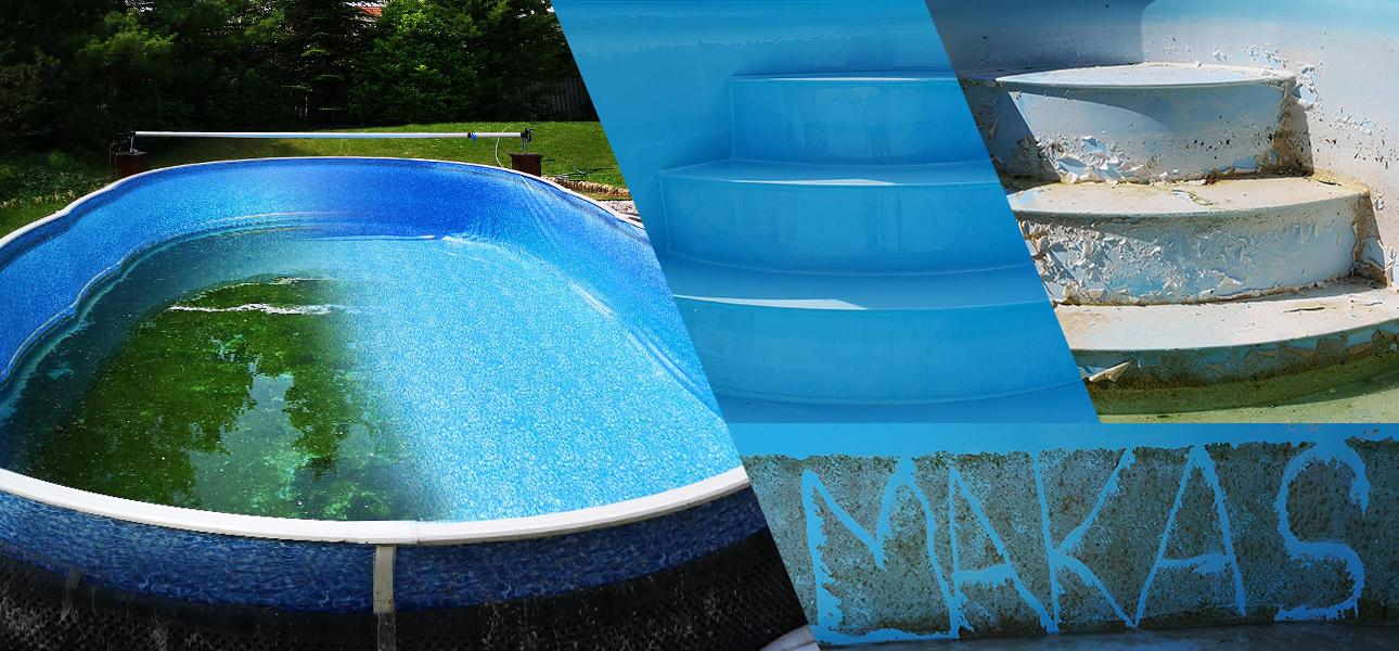 Čistenie bazénov